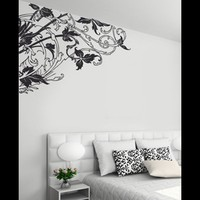 Corner Vines - Baroque Wall Decal - Couture Déco