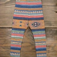 Baby Leggings Mexican Prints