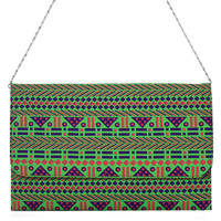 Navajo Neon Chain Clutch Bag - Goods - Retro, Indie and Unique Fashion