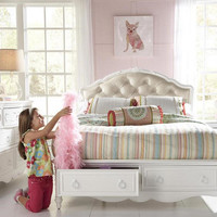 Fiona Twin Size Upholstered Storage Bed
