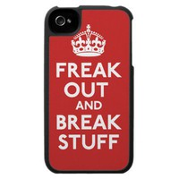 Freak Out And Break Stuff Speck Case