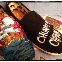 Custom Toms Shoes(Chunk no. Captain Chunk)
