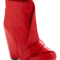 Red Your Mind Boot | Mod Retro Vintage Boots | ModCloth.com