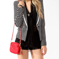 Nautical Striped Blazer