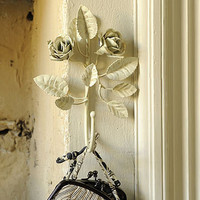 vintage-style metal flower hook by anusha | notonthehighstreet.com