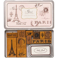 Rubber Stamps - Paris Rubber Stamp Set - Paper Source