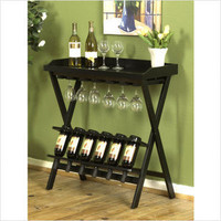 Wine Table, Black