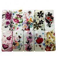 buy cheap Colorful Applique Design Protective Back Case for iPhone 5 wholesale on China Gadget Land