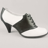 Soda Shoppe Saddle Shoes | PLASTICLAND