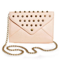 Cute Studded Clutch - Pink Clutch - $34.00