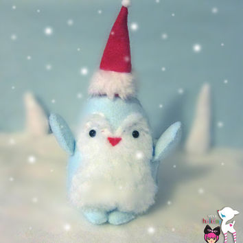 Baby Snow Penguin's First Snow - Holiday plush