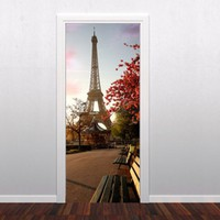 Buy Paris door decoration in vinyl on Shoply.