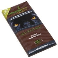 Endangered Species Black Panther, Extreme Dark Chocolate (88%), 3-Ounce Bars (Pack of 12): Amazon.com: Grocery & Gourmet Food