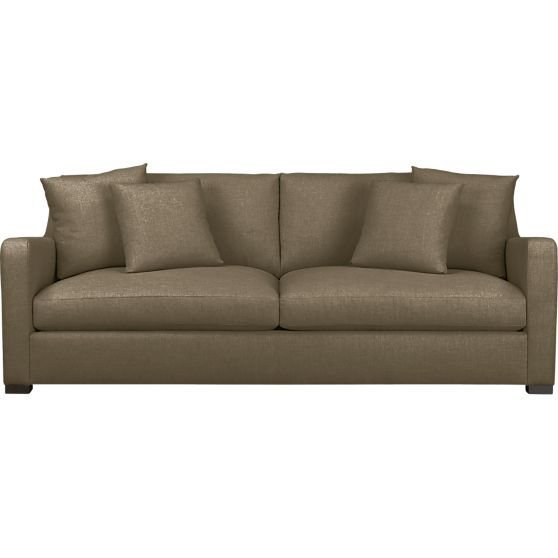 Verano sofa in sofas crate and barrel from crate and barrel for Crate and barrel sofa