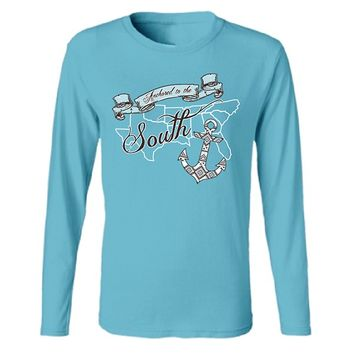 Katydid Anchored to the South Fashion Women's T-Shirt