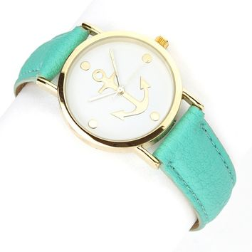 Katydid Anchor Fashion Women's Watch