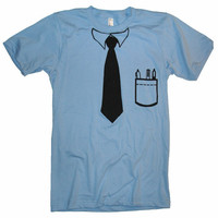 Men&#x27;s Its Business Time T Shirt - American Apparel - XS S M L XL and XXL (19 Color Options)
