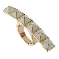 Studded Wide Ring - Jewelry  - Accessories