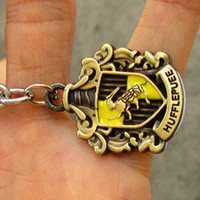 Harry Potter hufflepuee House Crest Locket keychain------SALE