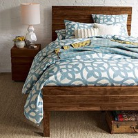Organic Ironwork Duvet Cover + Shams | west elm