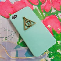 Deathly Hallows Harry Potter iPhone 4 /4S Hard Case Cover For iPhone 4 Case, iPhone 4s Case, iPhone 4 Hard Case,  case-0229