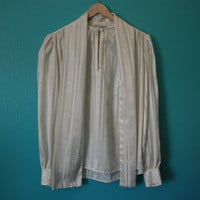 70's Lloyd Williams Bow Blouse