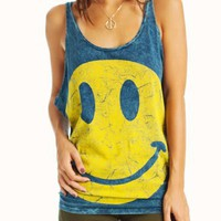 distressed-happy-face-tank BLUEYELLOW - GoJane.com