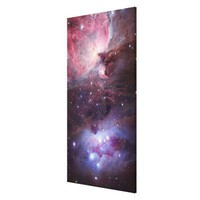 The Sword region of the constellation Orion Stretched Canvas Prints from Zazzle.com