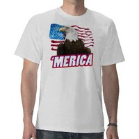 'Merica T-Shirt from Zazzle.com