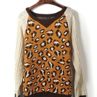 Leopard Long Sleeve Sweater$43.00