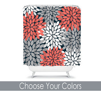 Best Coral Shower Curtain Products On Wanelo