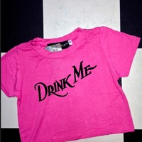 SWEET LORD O'MIGHTY! DRINK ME CROP TEE