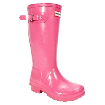 Hunter Youth Kids Original Glitter Finish Rain Boot at Von Maur