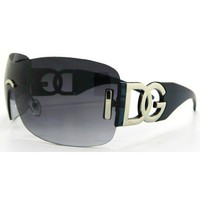 Amazon.com: Blue DG Eyewear Sexy Bling Womans Sunglasses Shades 4060E: Clothing