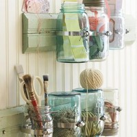 Mason Jar Craft Storage! « Epheriell Designs