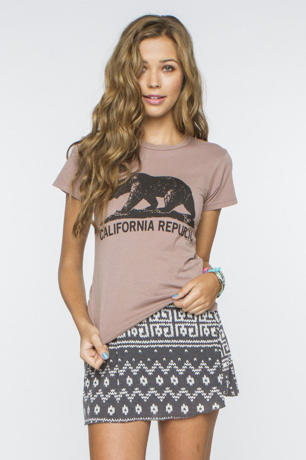 Chloe CA Bear Tee