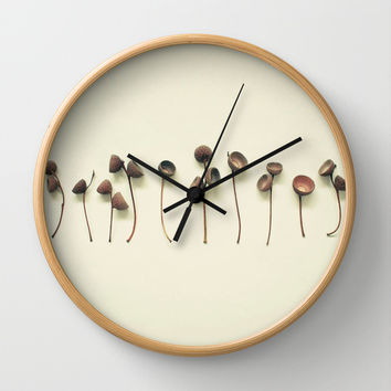 Acorn Collection Wall Clock by Cassia Beck