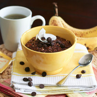 Chocolate and Banana Overnight Oats-3 | Flickr - Photo Sharing!