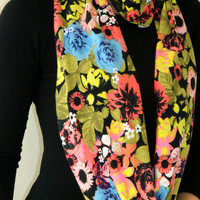 Infinity Scarf Loop Scarf Circle Scarf Cowl Scarf ....Loop Infinity Scarves. Circle Scarf ,Womens Accessories.
