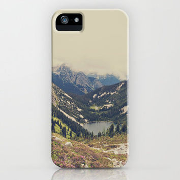 Mountain Flowers iPhone Case by Kurt Rahn | Society6