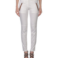 Barbara Bui Official Online Store - COTTON-BLEND BIKER PANTS