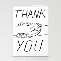 Thank you ! Stationery Cards by Angela Dalinger