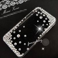 iphone 5 case / iphone 4 case clear iphone 4s case bling iphone 4 case cover Unique iphone 4 case iphone hard case