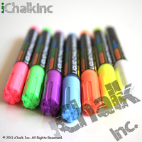 7 x Color Pen Set Liquid Chalk Marker 6mm - Chalkboard Marker Chalk Ink Pens