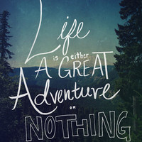 Great Adventure II Art Print by Leah Flores | Society6