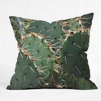 Lisa Argyropoulos Prickly Throw Pillow - Indoor /