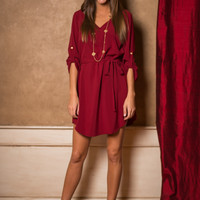 Be My Baby Dress, Red