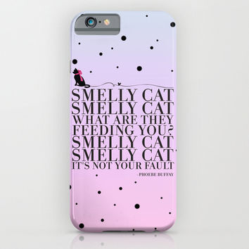 Smelly Cat iPhone & iPod Case by Sara Eshak