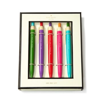 kate spade new york 5-Piece Pen Set at Von Maur