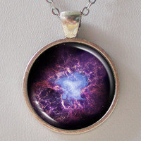 Nebula Necklace - Purple Crab Nebul.. on Luulla